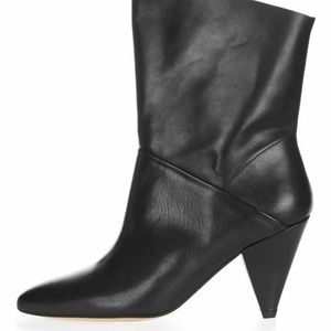 Topshop Mickey Leather Boots